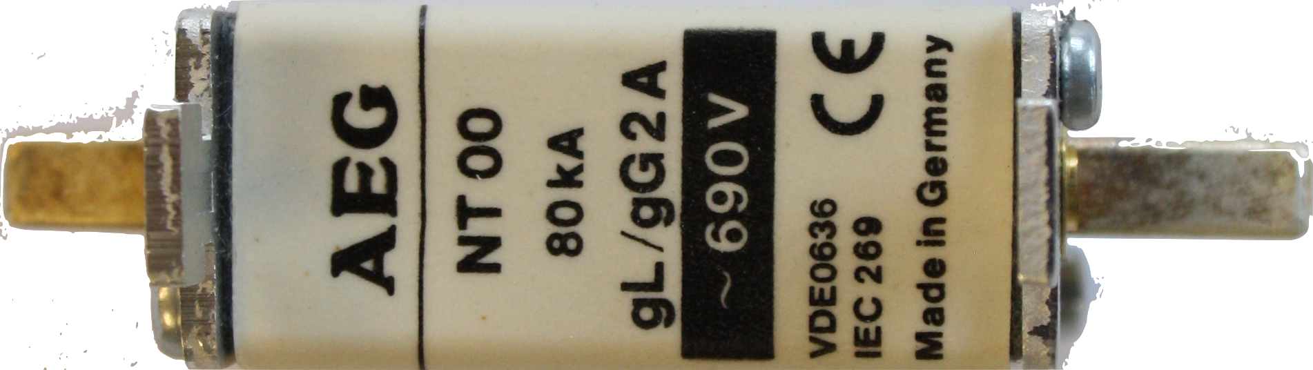 Fuse available for AC/DC protection Image